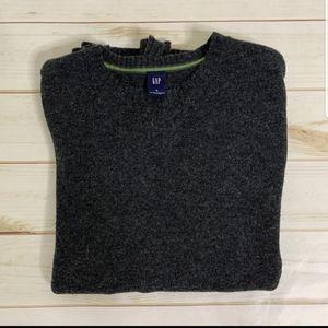 Grey crewneck sweater gray by GAP Size S